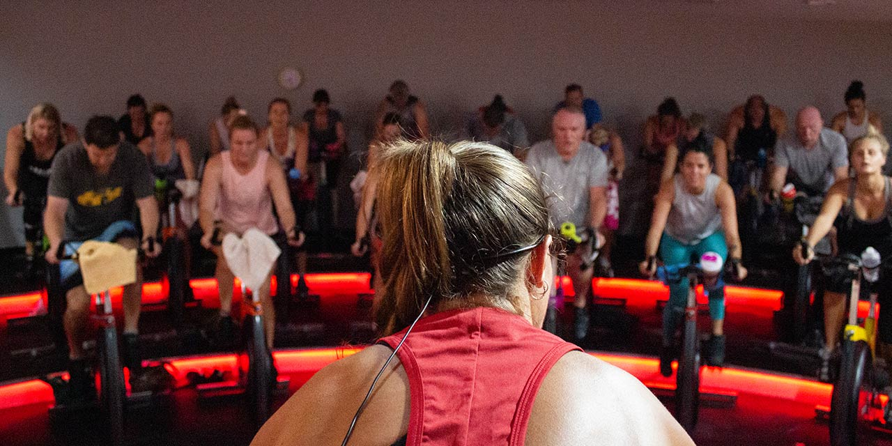 indoor cycling classes