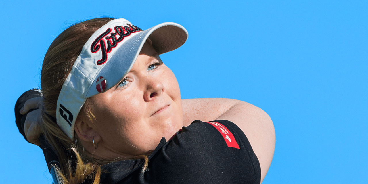 Puk Lyng Thomsen about her back pain and surgery