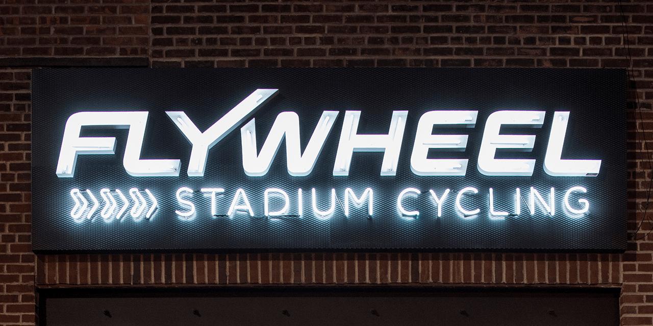 Flywheel stadium cycling