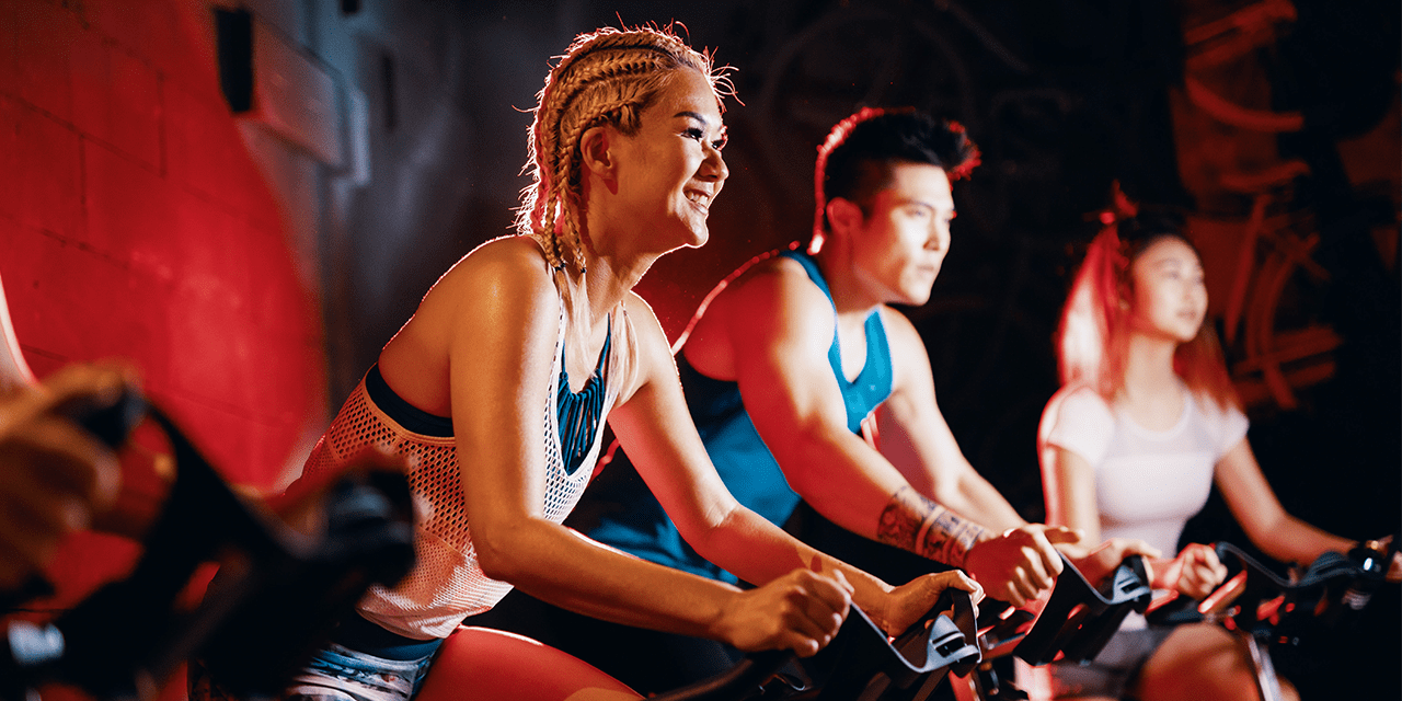 FIRE Fitness small group cycling boutique