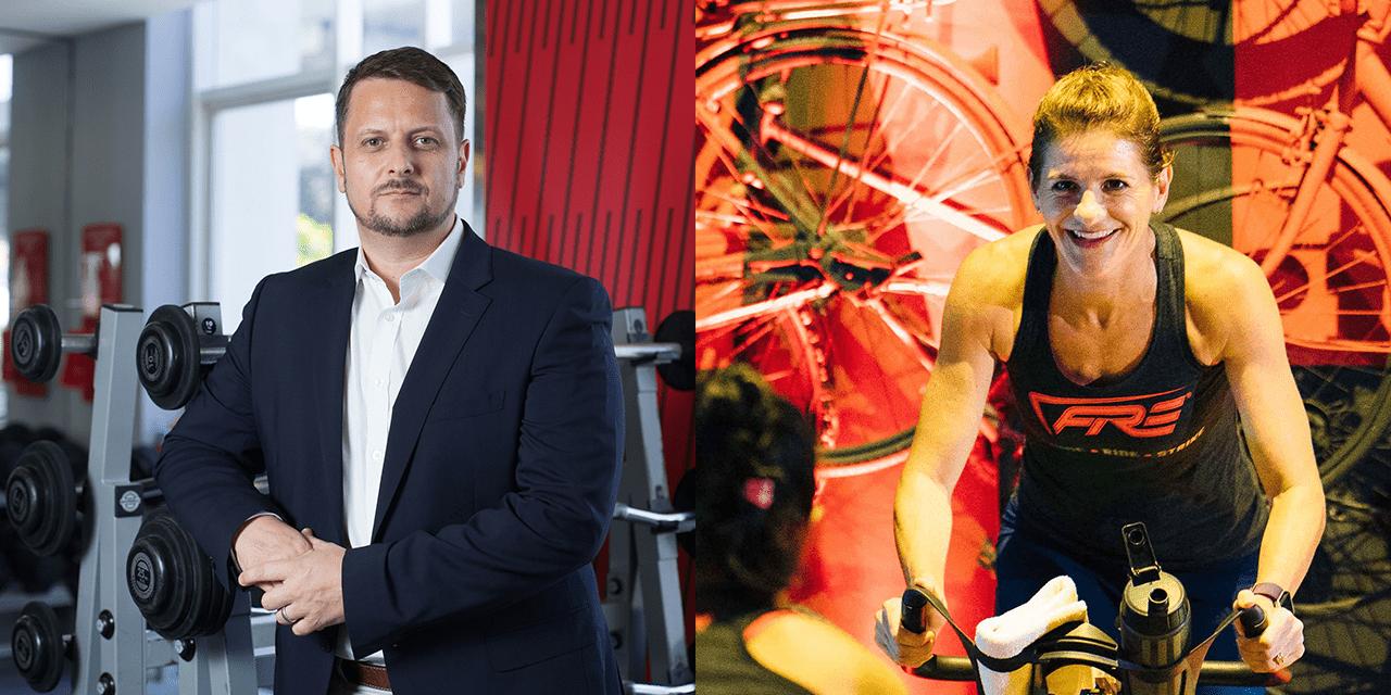 Evolution Welllness CEO Simon Flint and FIRE's Tracy Minnoch-Nuku