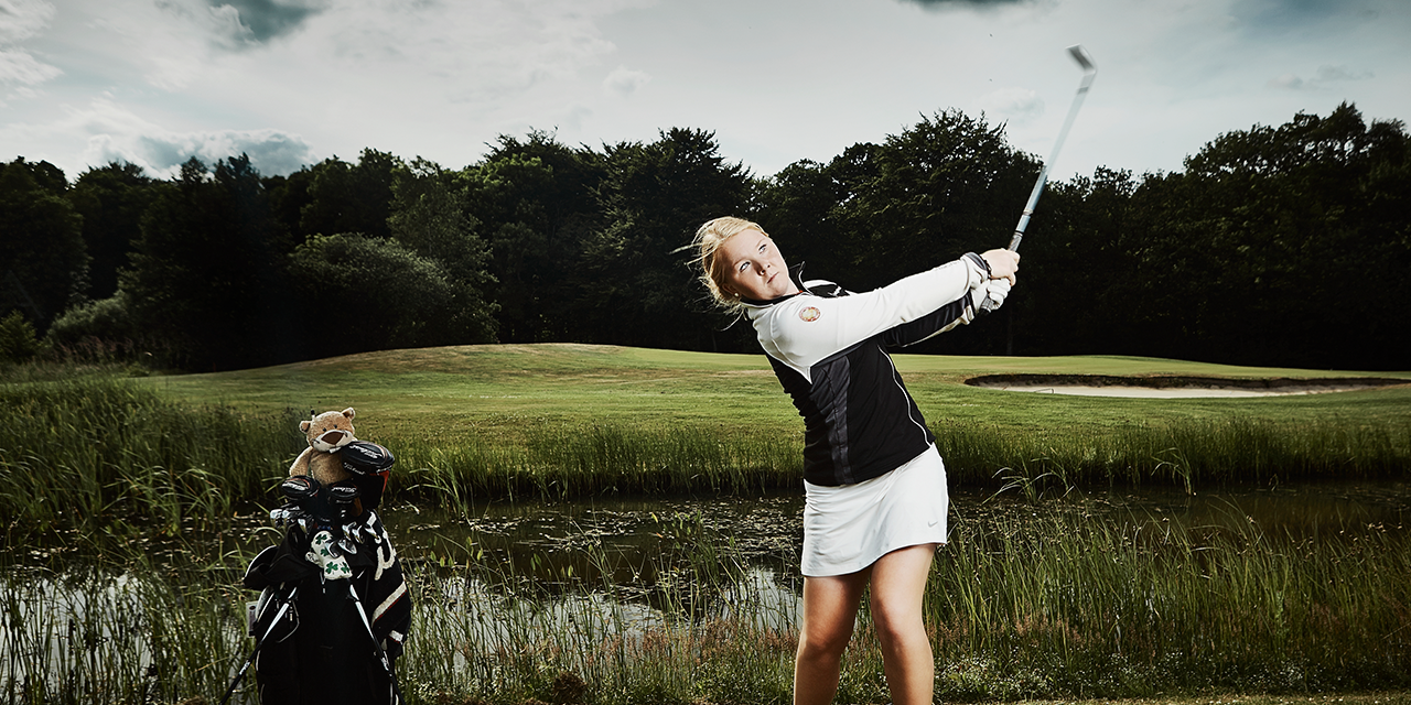 Puk Lyng Thomsen professional danish golfer