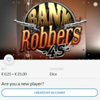 Bank Robbers 4S - Air Dice