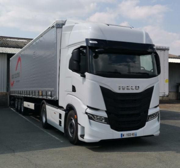 Poids-lourd transport routier Rigaut Solutions