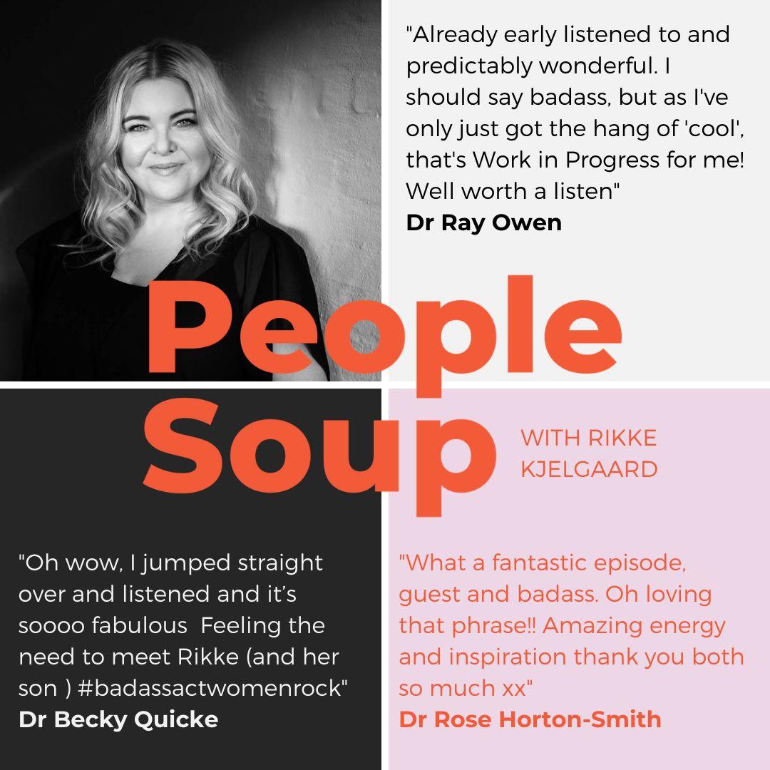Rikke Kjelgaard on People Soup podcast
