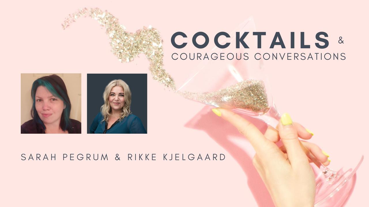 Rikke Kjelgaard and Sarah Pegrum