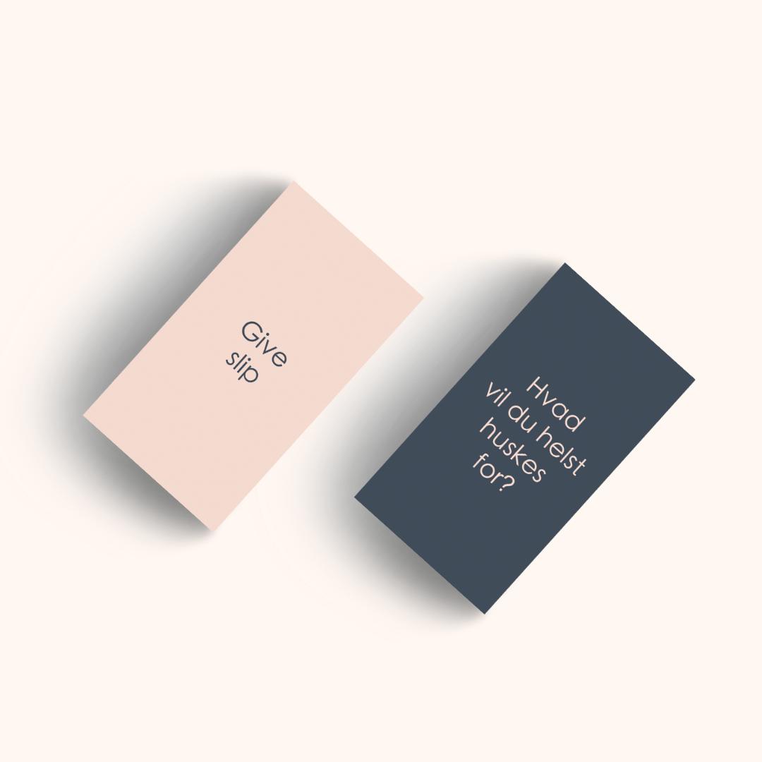 Samtale- og værdikort af Rikke Kjelgaard