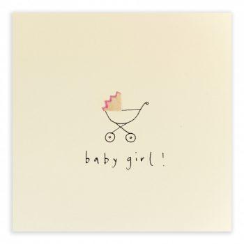 Kaart baby girl - Rima Baby