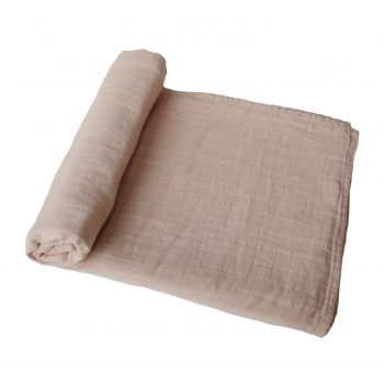 Swaddle Mushie 120 Pale Taupe Rima Baby