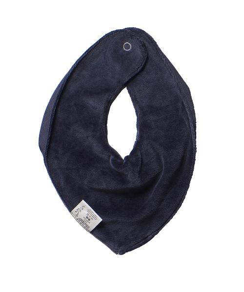 Bandana blauw Slaep achterkant - Rima Baby
