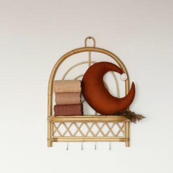 Decoratie babykamer - rotan wandrek - Rima Baby