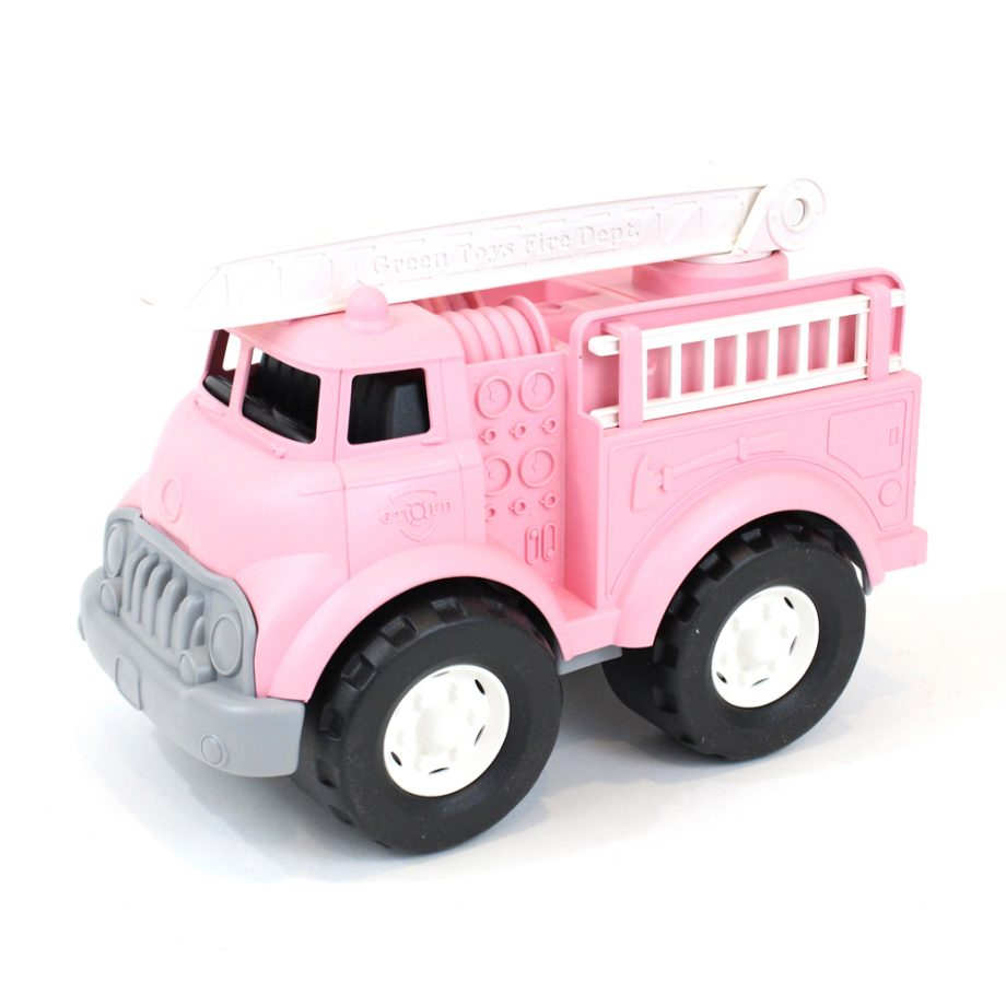 Brandweerwagen roze Green Toys - Rima Baby