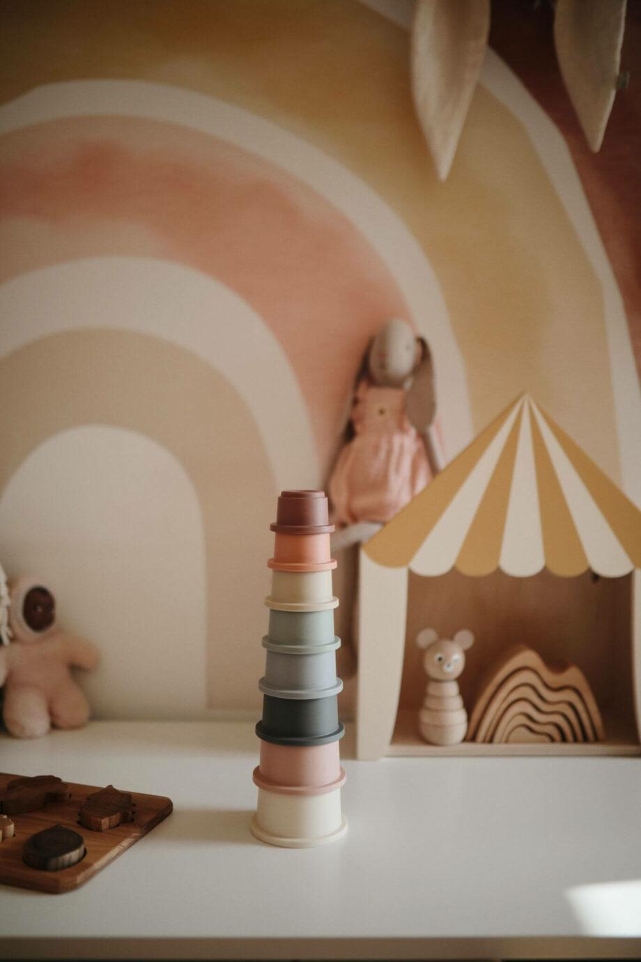 Stapeltoren original - Mushie - Rima Baby