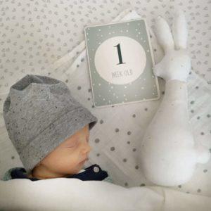 Javi 1 week oud - Rima Baby