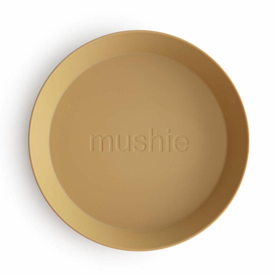 Bord Mushie - mosterd - Rima Baby