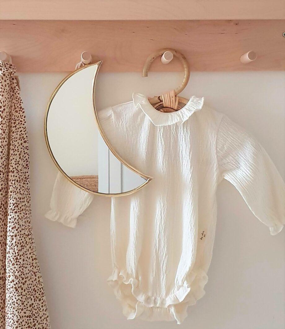 Decoratie rotan kledinghangertje - Rima Baby