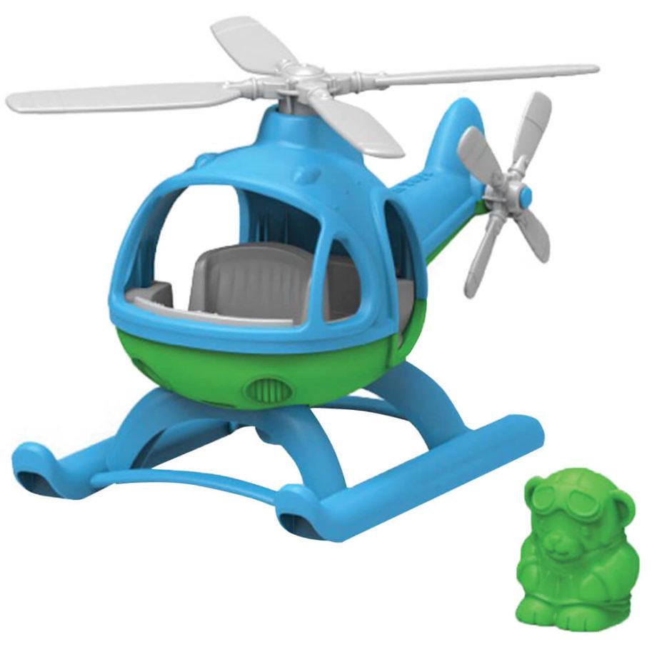 Green Toys helikopter blauw - Rima Baby