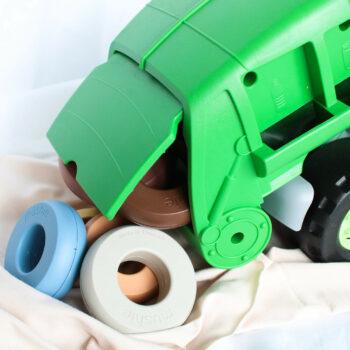 Green Toys vuilnisauto vuilniswagen
