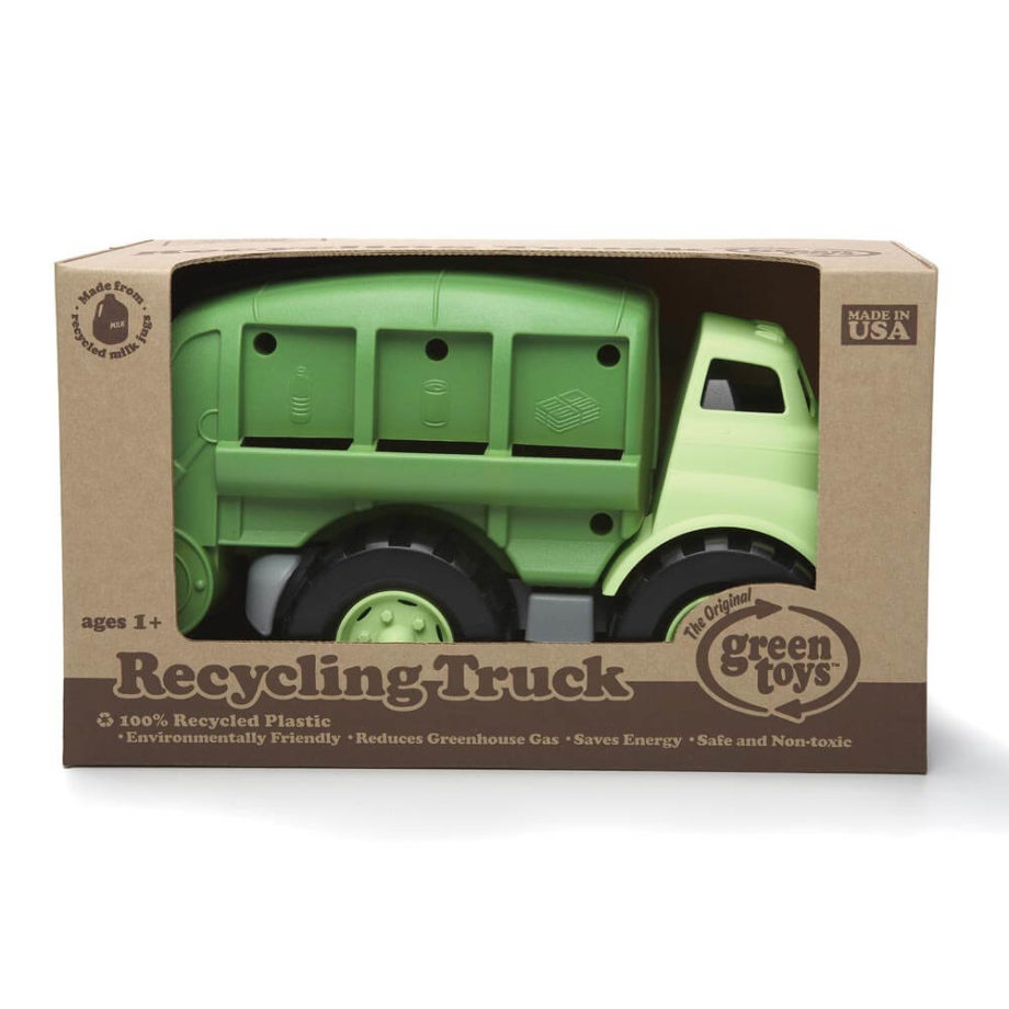 Green Toys vuilniswagen in verpakking - Rima Baby