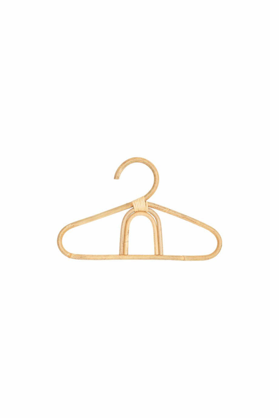 Rotan kledinghanger regenboog - Rima Baby