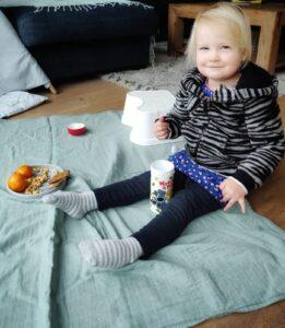 Hydrofiele doek - picknick - Rima Baby