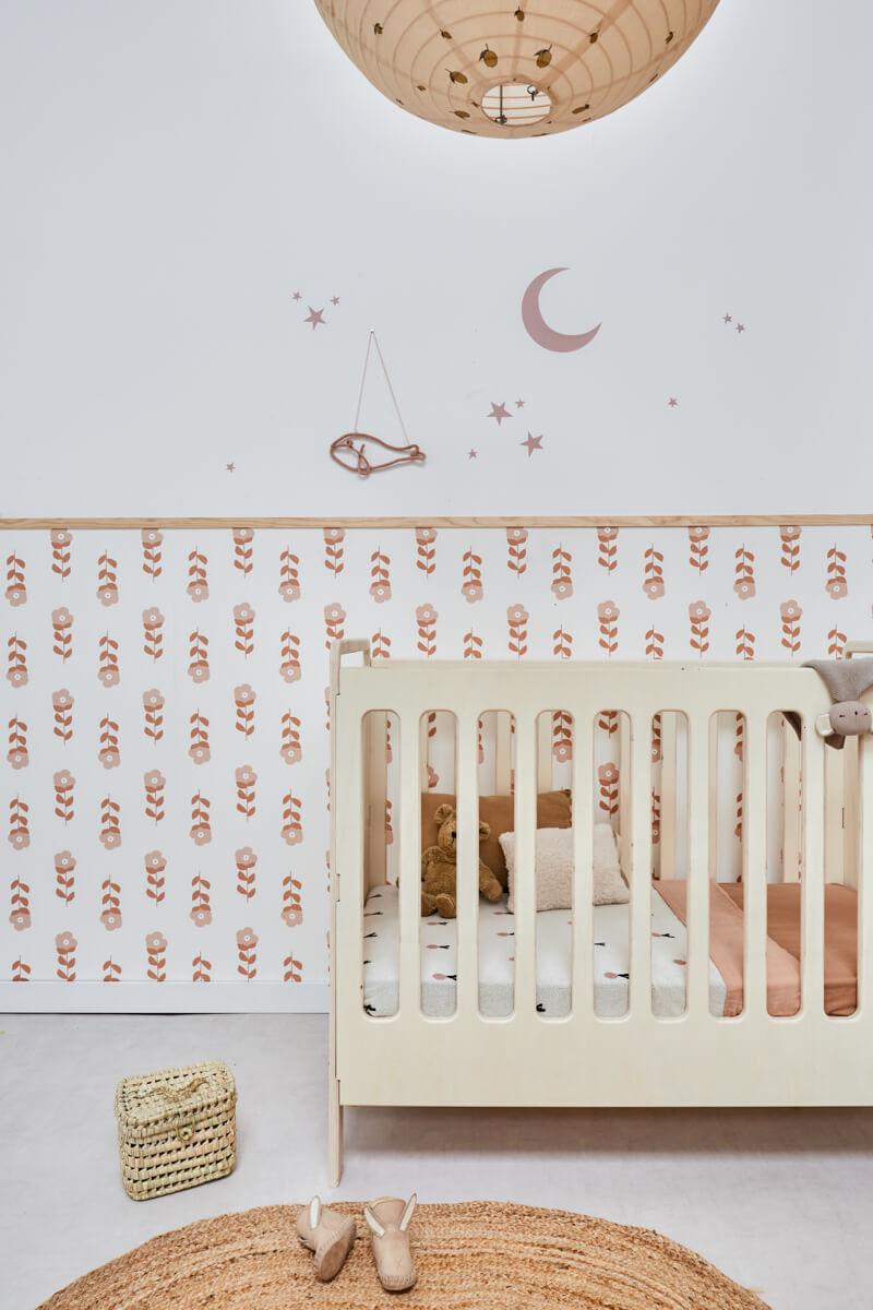 Mandje babykamer