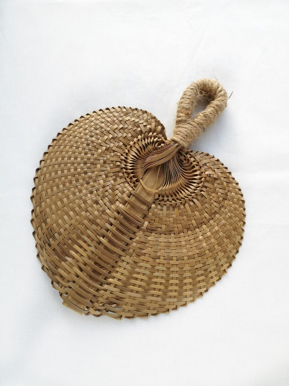 Waaier gevlochten bamboe - Rima Baby