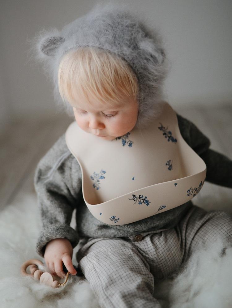 Mushie siliconen slab - bloemen - Rima Baby
