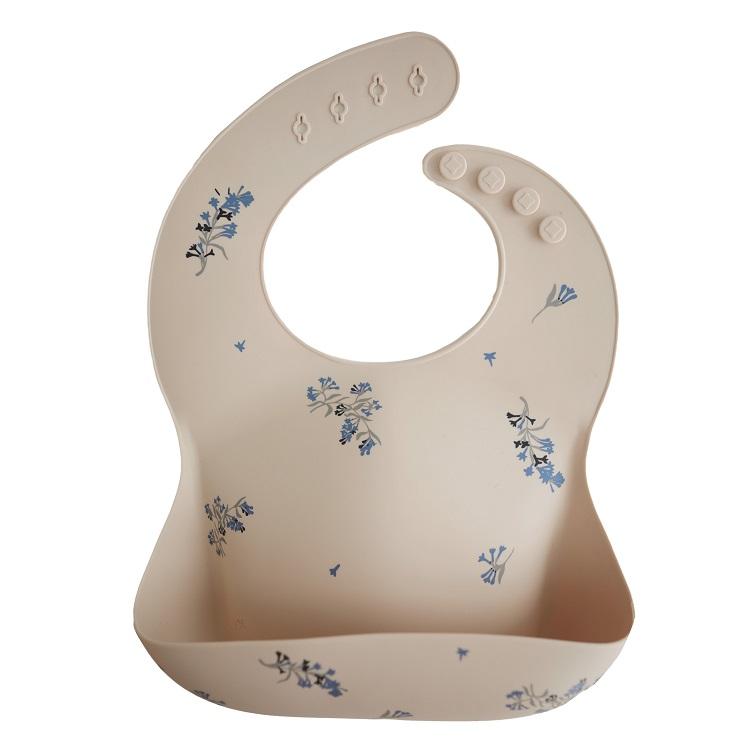 Siliconen slab Mushie - bloemen - Rima Baby
