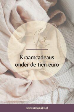 Kraamcadeaus onder de tien euro