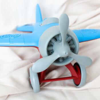 Vliegtuig green toys