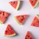 Watermeloen mee naar het strand
