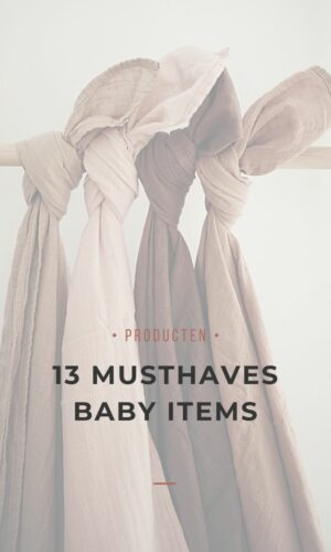 13 musthaves baby items - blog