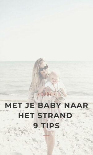 Blog - Met je baby naar het strand