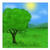 En bild som visar grön, gräs, foto, fält  Automatiskt genererad beskrivning