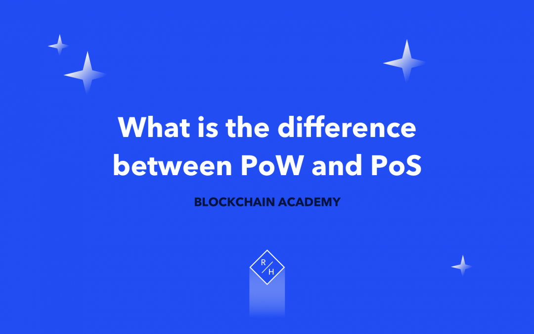 What is the difference between PoS and PoW?