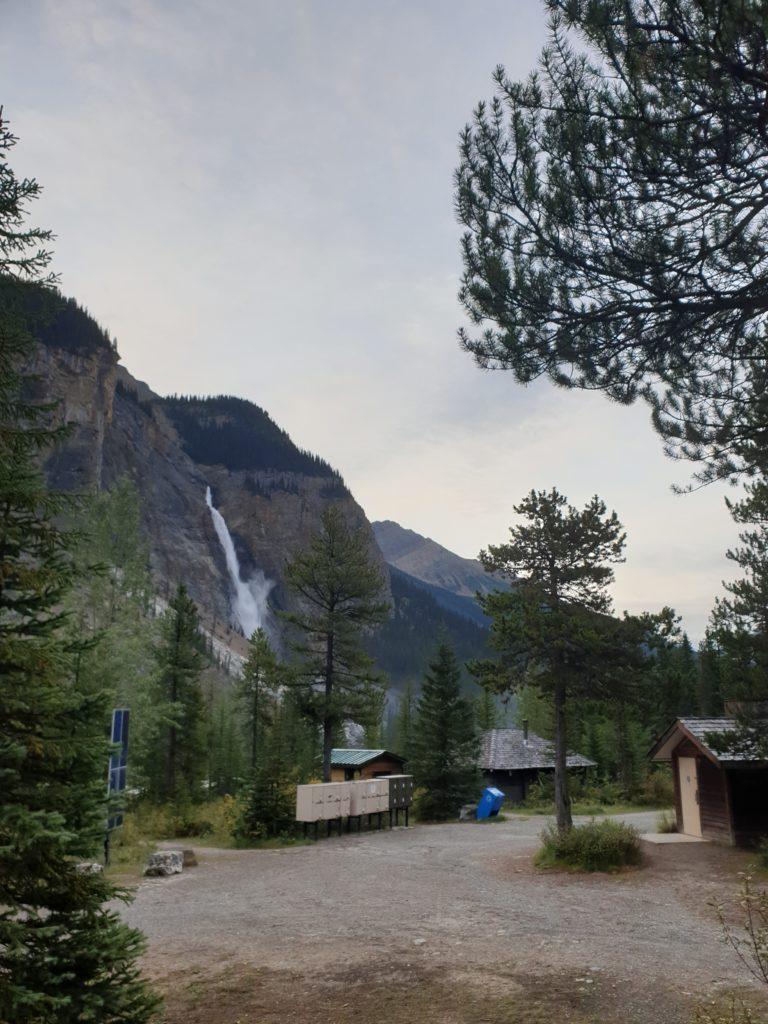 Takakkaw Falls Campground