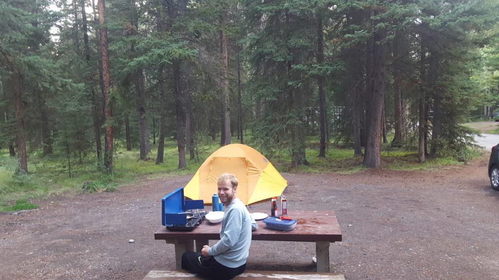 Kamperen in Banff
