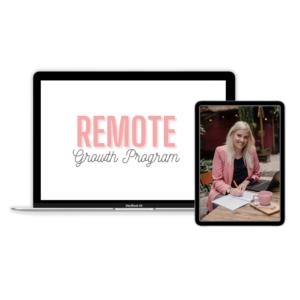 Remote Growth Programma