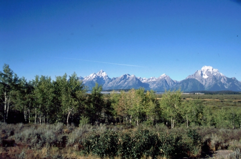 25 Grand Teton met Jackson Lake