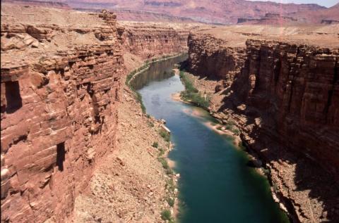 383 Colorado River bij Navajo Bridge