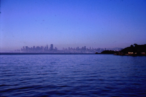 530 Skyline SFO vanaf de Bay