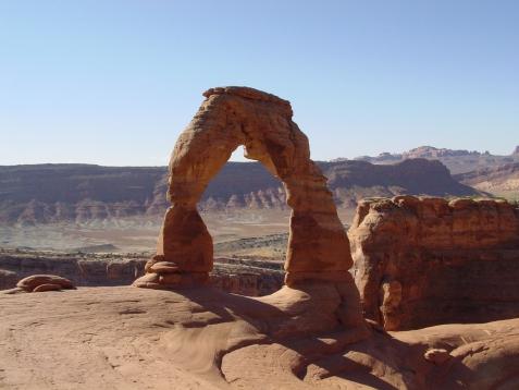 vakantie 2003 Delicata Arch 1