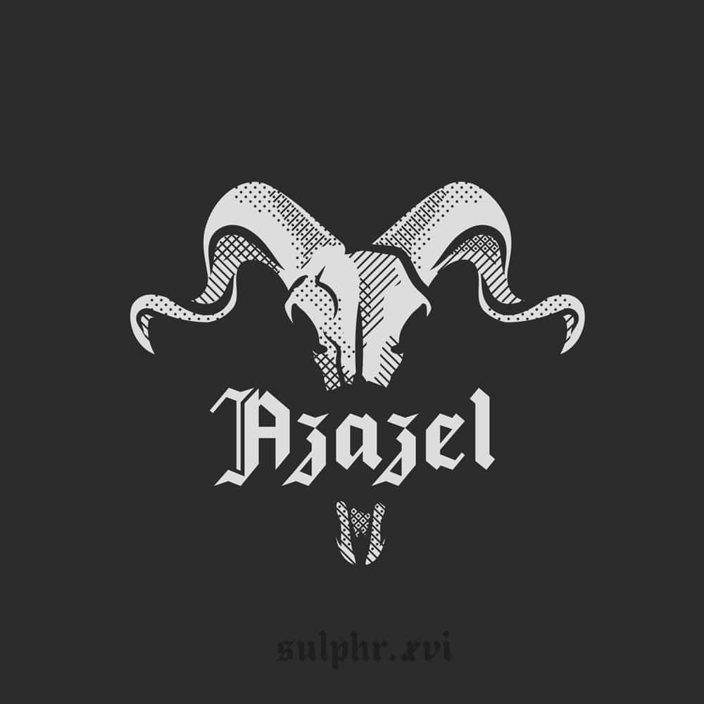 An illustration using the occult typeface: Azazel, created by Sulphr XVI