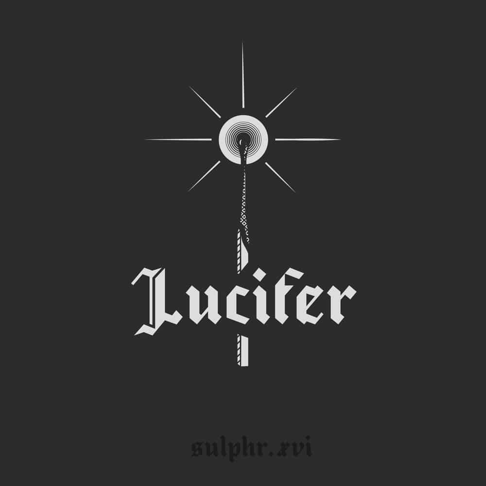 An illustration using the occult typeface: Lucifer, created by Sulphr XVI