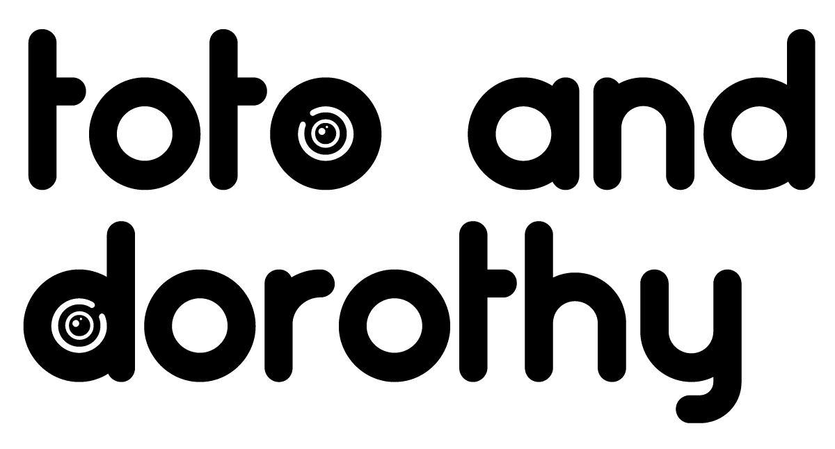 Toto and Dorothy, written in the artificers typeface