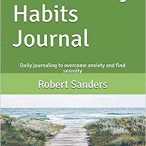 book: the anxiety habits journal