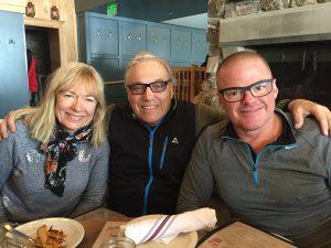 Arnie Wilson, Vivianne Naeslund, and HestonBlumenthal