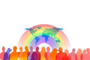 Diverse range of people