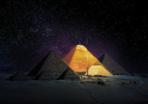Poster »Die Lampe von Gizeh«